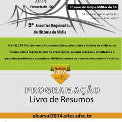 Alcar Sul 2014 lança Caderno de Resumos